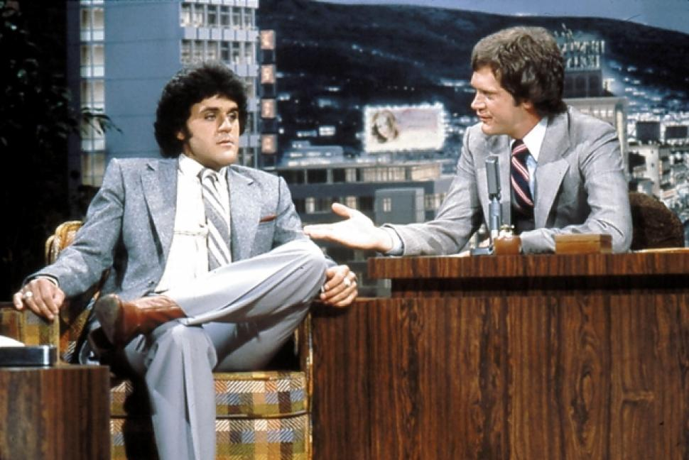 Leno on Letterman